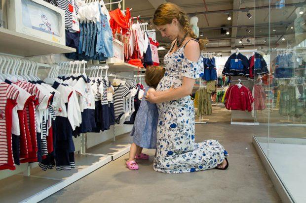ovs shopping saldi mamma bambina