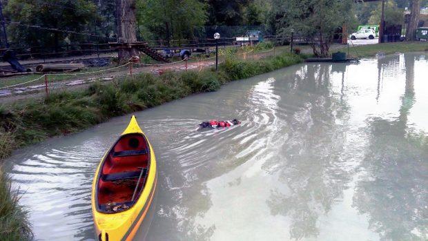cane bagno lago montagna petvillage 7