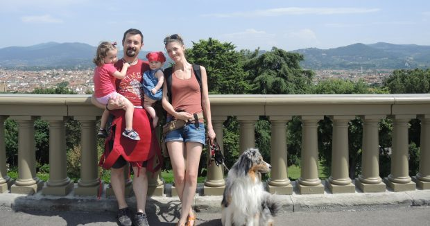 famiglia bimbi cani firenze vacanza