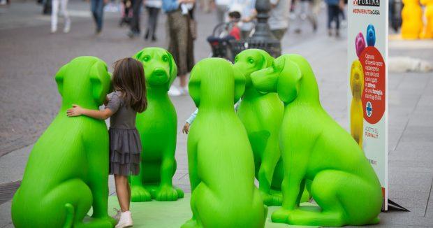 Purina statue cani bambina facebook
