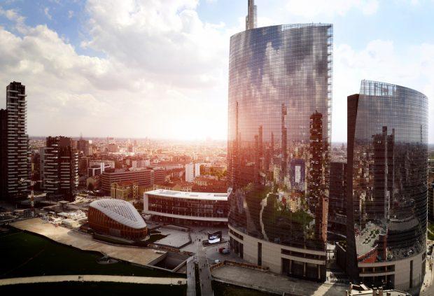 città milano grattacieli