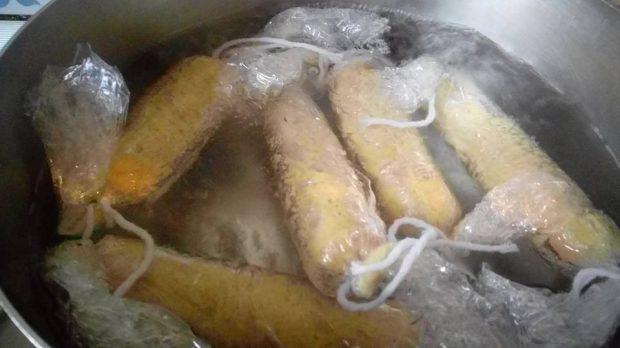 WURSTEL ricetta cani COTTURA